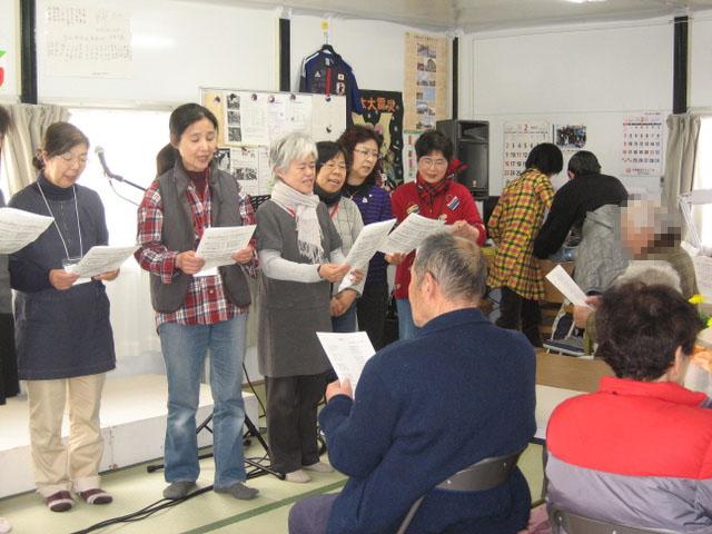 仙台教会メンバーによる賛美